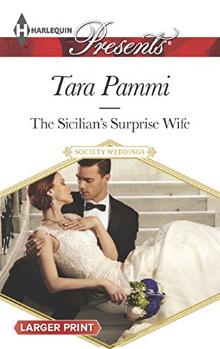 9780373138227: The Sicilian's Surprise Wife (Society Weddings)
