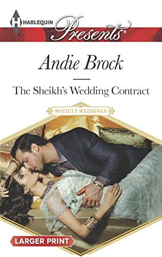 9780373138302: The Sheikh's Wedding Contract (Society Weddings)
