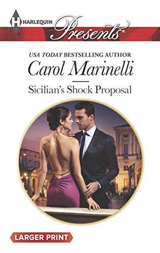 9780373138333: Sicilian's Shock Proposal (Playboys of Sicily)