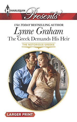 9780373138371: The Greek Demands His Heir (Harlequin Presents (Larger Print))