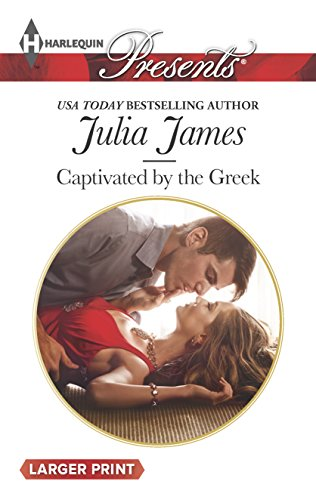 9780373138425: Captivated by the Greek (Harlequin Large Print Presents)