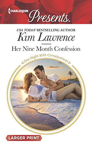 9780373138470: Her Nine Month Confession (One Night With Consequences)