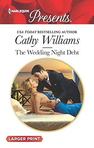 9780373138555: The Wedding Night Debt (Harlequin Large Print Presents)