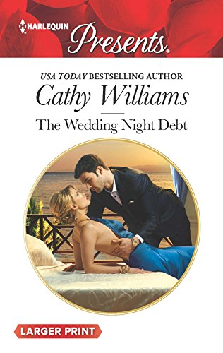 9780373138555: The Wedding Night Debt (Harlequin Presents (Larger Print))