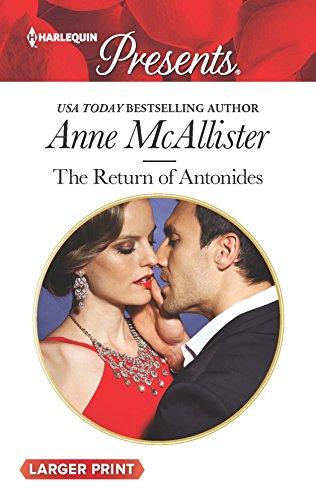 9780373138586: The Return of Antonides (Harlequin Presents)