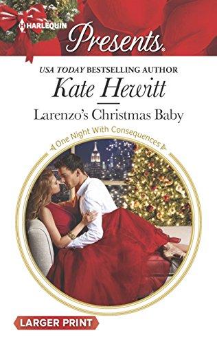 9780373138647: Larenzo's Christmas Baby (Harlequin Presents (Larger Print))