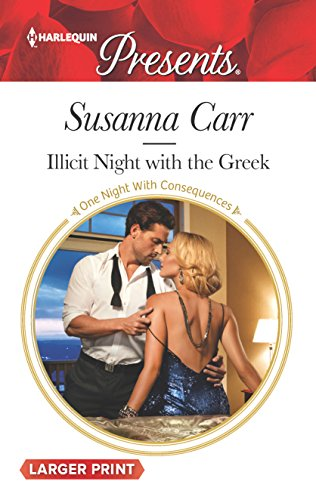 9780373138906: Illicit Night with the Greek (One Night With Consequences)