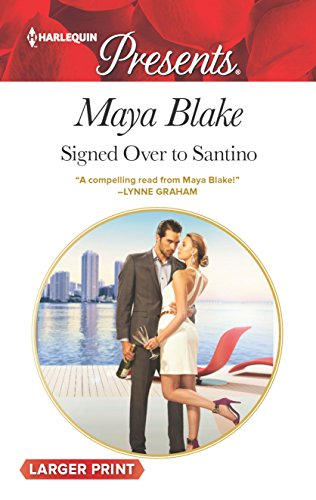 9780373139224: Signed Over to Santino (Harlequin Presents)
