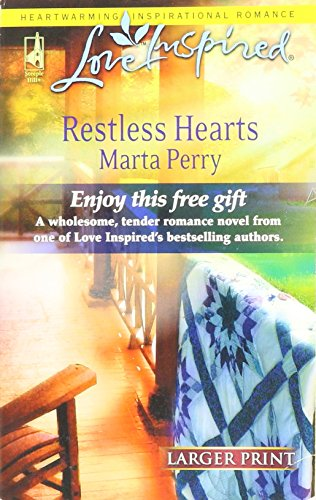 Restless Hearts (Love Inspired): Perry, Marta