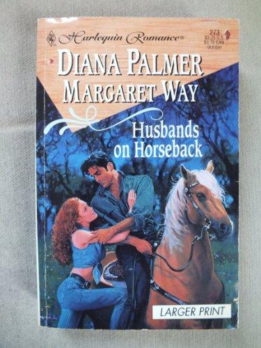 9780373156733: Husbands On Horseback (2 In 1) Larger Print