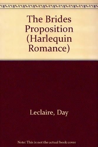 9780373158577: The Bride's Proposition