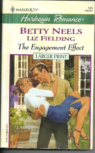 9780373159352: The Engagement Effect - Larger Print (Larger Print, 535)