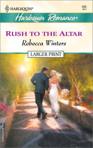 9780373159895: Rush to the Altar (Twin Brides)