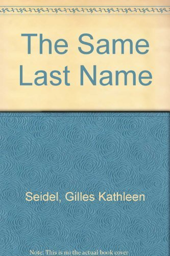 9780373160020: The Same Last Name