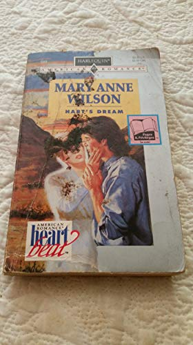 Hart'S Dream (Heartbeat) (0373165897) by Mary Anne Wilson