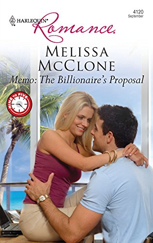 9780373176106: Memo: The Billionaire's Proposal