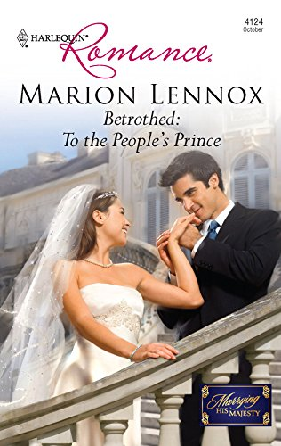 9780373176144: Betrothed: To the People's Prince