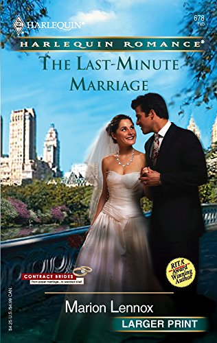 9780373181780: The Last-Minute Marriage