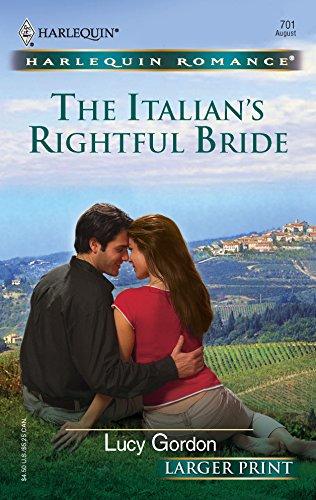 9780373182015: The Italian's Rightful Bride