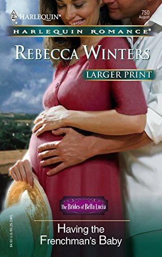 Having The Frenchman's Baby (0373182503) by Rebecca Winters
