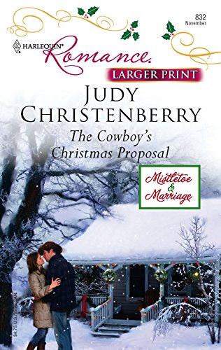 9780373183326: The Cowboy's Christmas Proposal