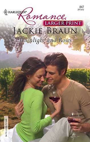 9780373183470: Moonlight and Roses (Harlequin Romance Large Print)