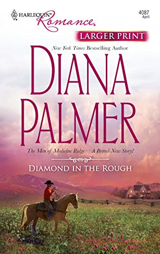 9780373184330: Diamond in the Rough (Harlequin Larger Print Romance)