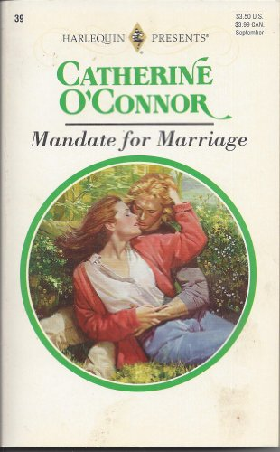 9780373186396: Mandate for Marriage