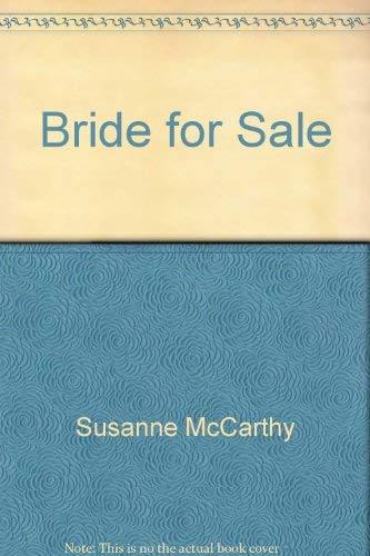 9780373187478: Bride for Sale (Harlequin Presents, 147)