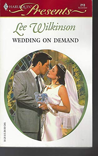 9780373188130: WEDDING ON DEMAND