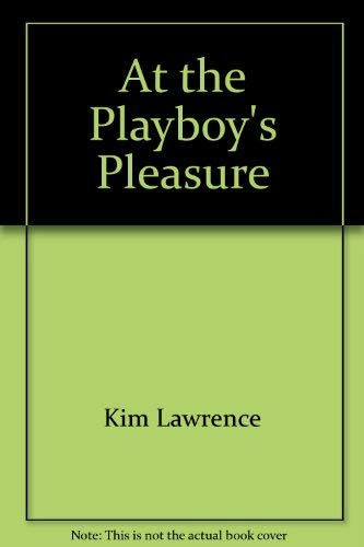 9780373188376: At the Playboy's Pleasure (Harlequin Presents, #237, Nov. '04)