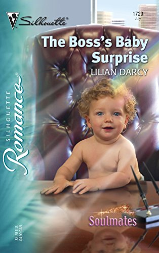 9780373197293: The Boss's Baby Surprise: Soulmates (Silhouette Romance)
