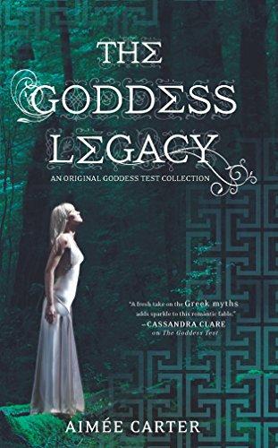 9780373210756: The Goddess Legacy (The Goddess Queen / The Lovestruck Goddess / Goddess of the Underworld / God of Thieves / God of Darkness (Goddess Test)