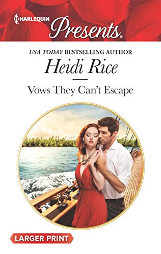 9780373213177: Vows They Can't Escape (Harlequin Presents)