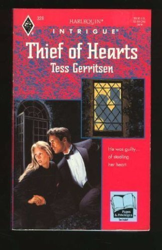 Thief of Hearts (Harlequin Intrigue, No 328): Tess Gerritsen