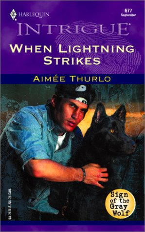 WHEN LIGHTENING STRIKES (Harlequin Intrigue Ser.)