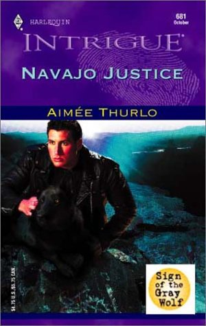 NAVAJO JUSTICE (Harlequin Intrigue Ser.)