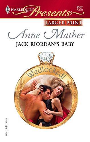 9780373233212: Jack Riordan's Baby