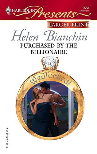 Purchased by the Billionaire: Bianchin, Helen