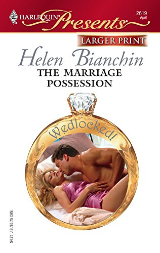 9780373233830: The Marriage Possession