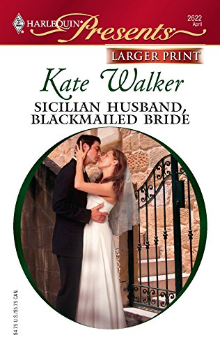 9780373233861: Sicilian Husband, Blackmailed Bride