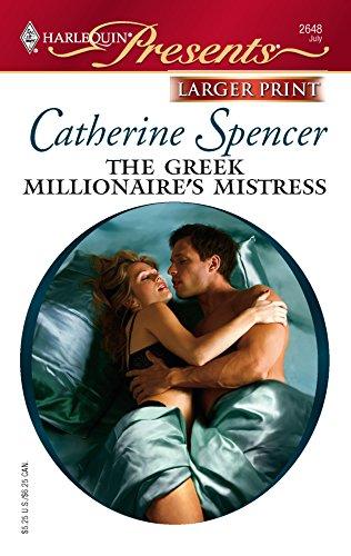 9780373234127: The Greek Millionaire's Mistress