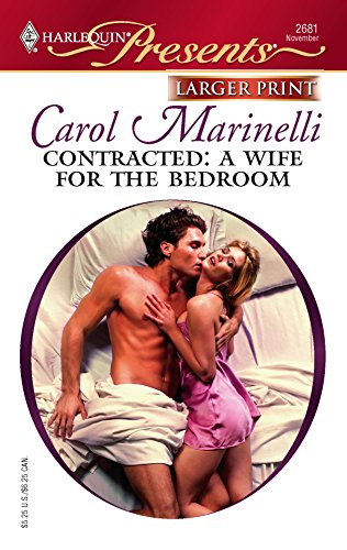 9780373234455: Contracted: A Wife For The Bedroom