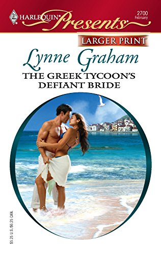 9780373234646: The Greek Tycoon's Defiant Bride