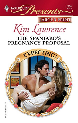 9780373234721: The Spaniard's Pregnancy Proposal (Harlequin Large Print Presents)