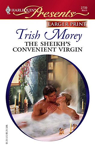 9780373234738: The Sheikh's Convenient Virgin (Larger Print Harlequin Presents)