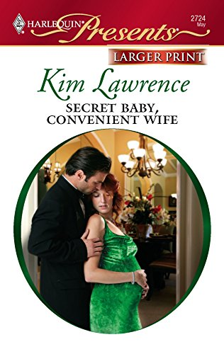 9780373234882: Secret Baby, Convenient Wife (Harlequin Presents: Italian Husbands)