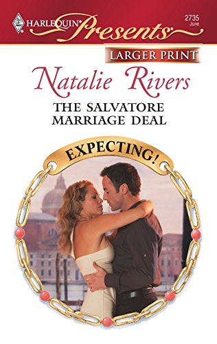 9780373234998: The Salvatore Marriage Deal