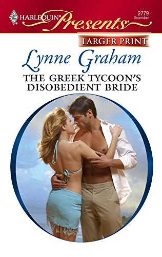 9780373235438: The Greek Tycoon's Disobedient Bride