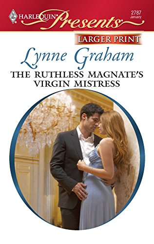 9780373235513: The Ruthless Magnate's Virgin Mistress